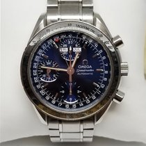 Omega Speedmaster Day Date Steel 39mm Blue No numerals United States of America, California, Los Angeles