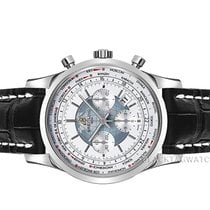Breitling Transocean Chronograph Unitime Steel 46mm White No numerals United States of America, Florida, Aventura