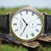 Patek Philippe 36mm Manual winding new Calatrava Gold