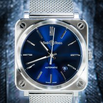 Bell & Ross Steel 39mm Automatic BRS92-BLU-ST/SST pre-owned