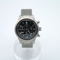 IWC IW3741 Steel 1993 Pilot Chronograph 36mm pre-owned