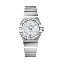 Omega Constellation Petite Seconde Steel 27mm Silver