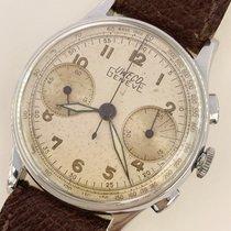 Universal Genève 35mm Handaufzug Uweco universal chrono gebraucht Schweiz, lugano