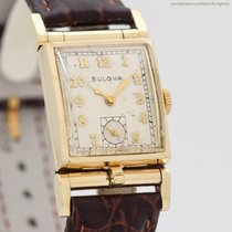 Bulova Yellow gold 21mm Manual winding pre-owned United States of America, California, Beverly Hills