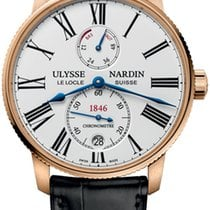 Ulysse Nardin 1182-310/40 Rose gold 2019 Marine Torpilleur 42mm new