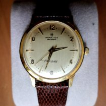 Hamilton Yellow gold Automatic pre-owned