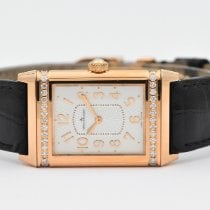 Jaeger-LeCoultre Grande Reverso Ultra Thin Rose gold 24mm White No numerals