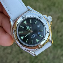 Zodiac Steel 30mm Quartz Zodiac Vintage Divers new