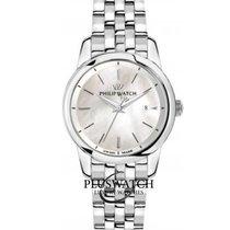 Philip Watch Steel 36mm Quartz R8253150503 new