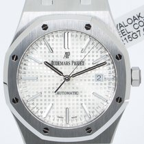Audemars Piguet Royal Oak Selfwinding Steel 41mm White No numerals United States of America, Georgia, ATLANTA