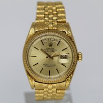 Rolex Day-Date 36 Yellow gold 36mm Gold No numerals United States of America, Florida, Miami Beach