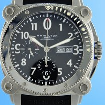 Hamilton Khaki Navy BeLOWZERO Steel 44mm Black