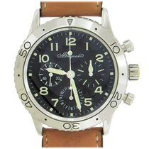 Breguet Type XX - XXI - XXII Steel 39mm Black Arabic numerals United States of America, New York, New York