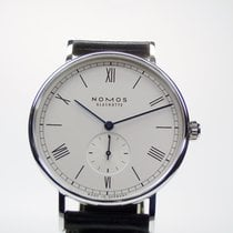 NOMOS Ludwig 38 Steel 37,5mm White Roman numerals