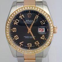 Rolex Datejust 36mm Two Tone  Aftermarket Diamond Bezel...