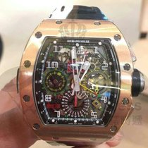 Richard Mille RM 011 RM11-02 ROSE GOLD FLYBACK CHRONOGRAPH DUAL TIME ZONE nieuw