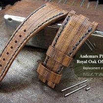 MiLTAT AP Royal Oak Offshore Leather Band, Wood Brown