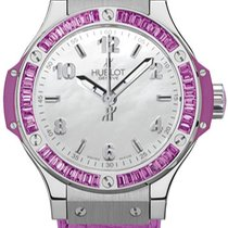 Hublot Big Bang Tutti Frutti Steel Mother of pearl United States of America, New York, Brooklyn