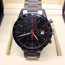 TAG Heuer Carrera Calibre 16 Steel Black No numerals United Kingdom, Wilmslow
