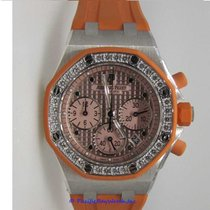 Audemars Piguet White gold Automatic Orange 37mm new Royal Oak Offshore Lady