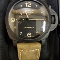 Panerai LUMINOR 1950 3 DAYS GMT AUTOMATIC CERAMICA - 44MM
