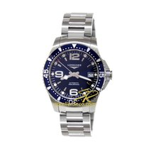 Longines 39mm Automatic new HydroConquest Blue