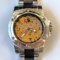 Invicta Steel 45mm Manual winding pre-owned