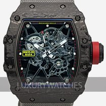 Richard Mille 49.9mm Manuell uppvridning 2016 ny RM 035 Transparent