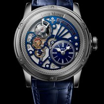 Louis Moinet Tempograph LM-50.70.20 New White gold 43,5mm Automatic