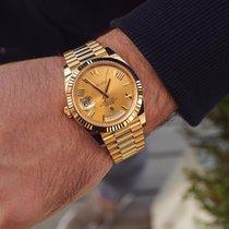 Rolex Day-Date 40 Жёлтое золото Россия, Москва