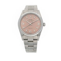 Rolex Air King Precision Steel 34mm Pink