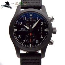 IWC Pilot Chronograph Top Gun 46mm Czarny