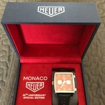 TAG Heuer Monaco Steel 39mm Red No numerals United Kingdom, Newtownabbey