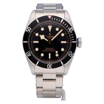 Tudor Black Bay Stål 41mm Svart Ingen tall