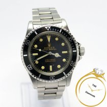 Rolex Submariner (No Date) pre-owned 40mm Black Month Year Steel