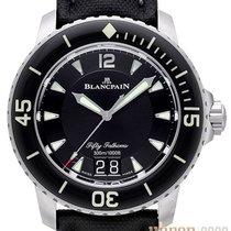 Blancpain Titan Automatik Schwarz Arabisch 45mm neu Fifty Fathoms