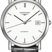 Longines Elegant Acier 34.5mm Blanc