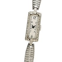 Elgin Platinum Manual winding Silver Arabic numerals pre-owned