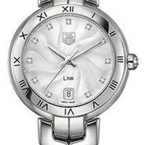 TAG Heuer Link Lady Zilver 34.5mm Zilver