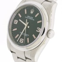 Rolex Oyster Perpetual 36 Steel 36mm Black Arabic numerals United States of America, New York, New York