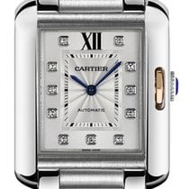 Cartier Tank Anglaise new Automatic Watch with original box WT100025