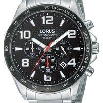 Lorus Steel 45mm Quartz RT351CX9 new