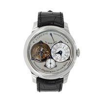 F.P.Journe new Manual winding Small Seconds Power Reserve Display 40mm Platinum Sapphire Glass