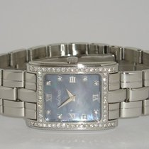 """Paul Picot """"Carré Galbé Diamonds Lady"""" 0,92Ct. TW/VVS"""