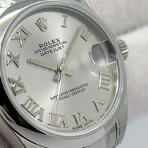 Rolex Lady-Datejust 178240 Rolex LADY Date JUST 31mm Oyster RODIUM Romans Number 2020 nuevo