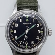 Hamilton 6b British military issue pilot wrist watch 1960s