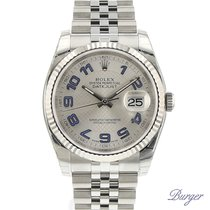 Rolex Datejust 36 Stainless Steel Fluted / Jubilee