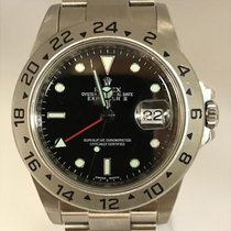 롤렉스 (Rolex) Explorer II Black Dial Engraved Bezel M