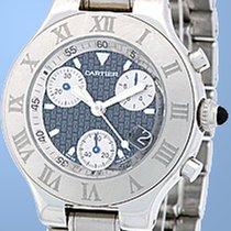 "Cartier ""Chronoscaph 21"" Chronograph."