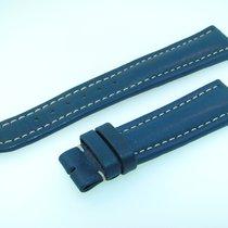 Breitling Band 19mm Blue Azul Calf Strap Ib19-07